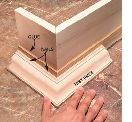 how to cut cornice without mitre box