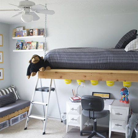 Home Dzine Home Diy Make A Hanging Or Suspended Bed