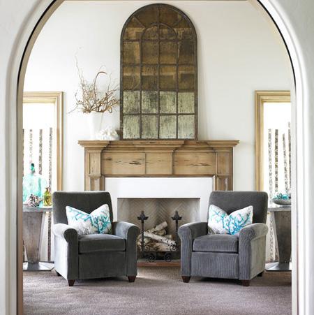 Home Dzine Home Decor Diy Arched Window Mirror