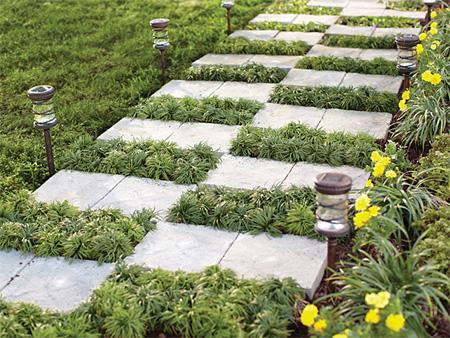 Home Dzine Garden Ideas Zig Zag Garden Path