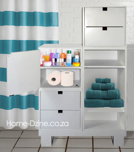 Make A Modular Bathroom Cabinet