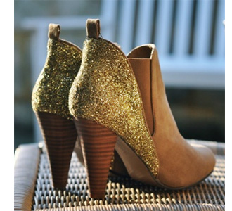 Home Dzine Craft Ideas Step Out In Glitter Boots