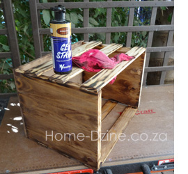 How to make your own wine crate