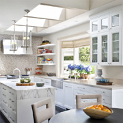 Finding space for dining in a kitchen