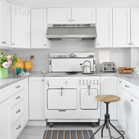 Chambers Countertop Stove : HOME DZINE Home Decor Before and after home makeovers on a budget