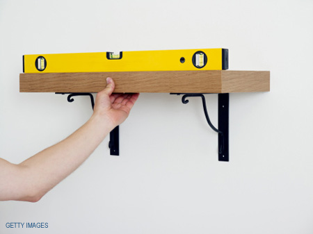 Home dzine home diy how to use a spirit level for How to level a house