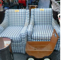 How To Recover An Armchair   Without A Sewing Machine!