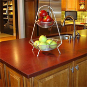 Countertops made from 100% recycled materials