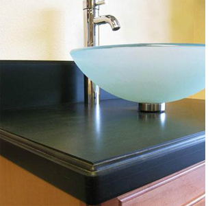 Kitchen Countertop Materials South Africa : ... Green Living A kitchen countertop made from 100% recycled materials