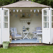 Transform a garden shed, hut or wendy house