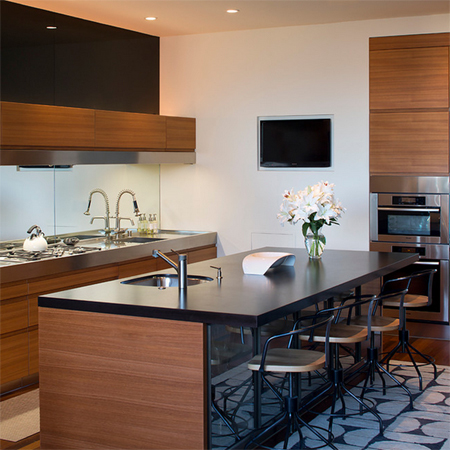 it comes down to choosing a kitchen island. Materials for countertops ...