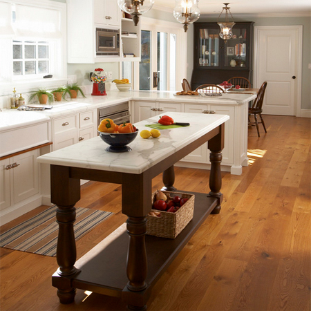 HOME DZINE Kitchen Choose A Kitchen Island Style