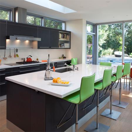 caesarstone quartz stone breakfast bar kitchen counter island