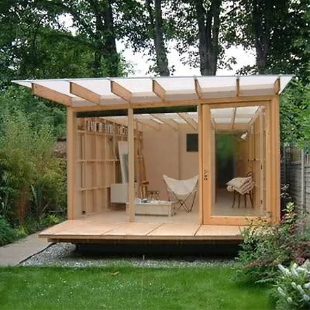 Garden Shed Room on yurt greenhouse