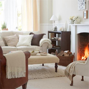 Easy ways to make a home feel cosy