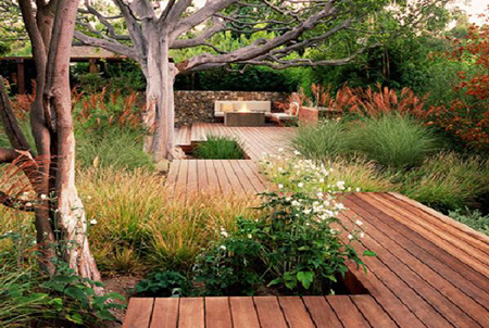 Green design for outdoor spaces