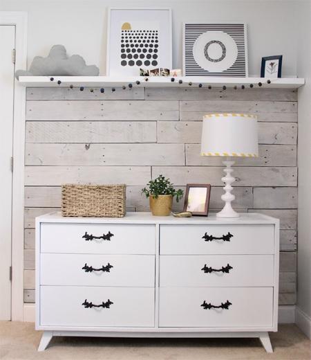 Whitewashed And Weathered Wood Panels