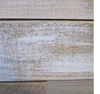 how to clean weathered wood sign before staining