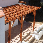 Simple, affordable pergola design