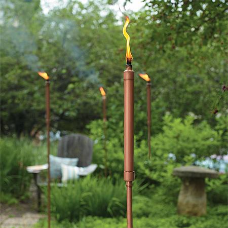 Home Dzine Garden Make Your Own Tikki Torches