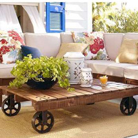 Recycle old pallets