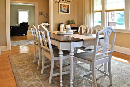Home Dzine A Dining Suite Goes From Dated To Divine