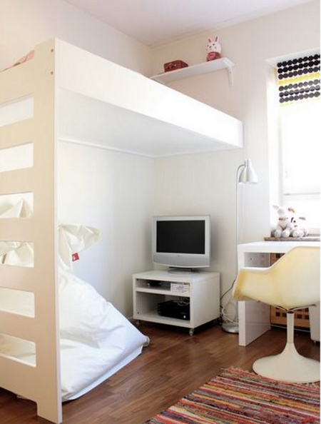 Smallest Bedrooms home dzine bedrooms | loft bed ideas for children's rooms