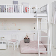 Loft bed ideas for a children's bedroom