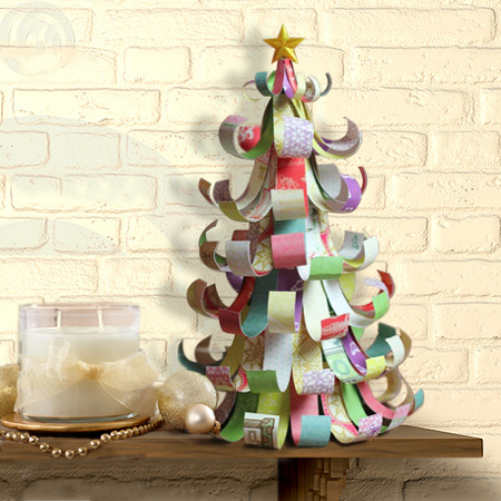 Home dzine craft ideas homemade paper decorations for Christmas decorations to make at home with paper