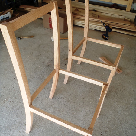 Make Your Own Dining Chairs