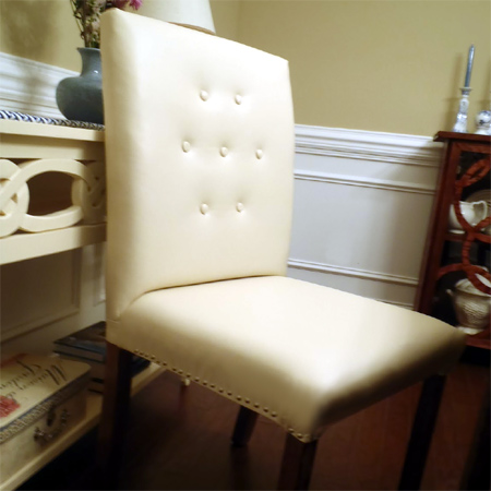 how to make your own upholstered dining chairs