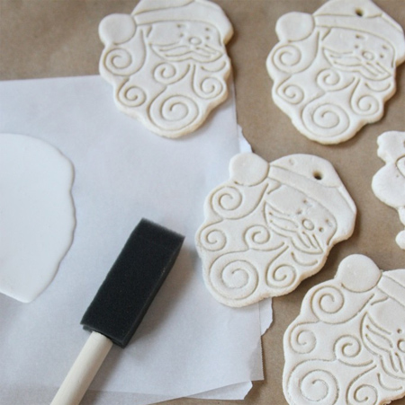 Salt dough holiday crafts