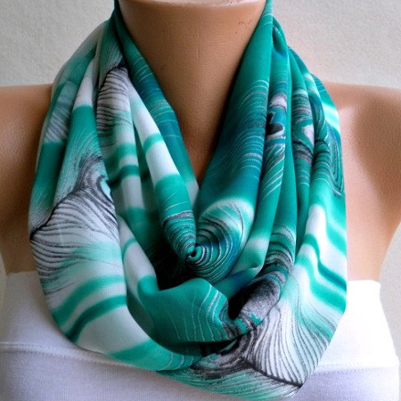 Make an infinity scarf from tshirt or fabric How To Make An Infinity Scarf From Fabric