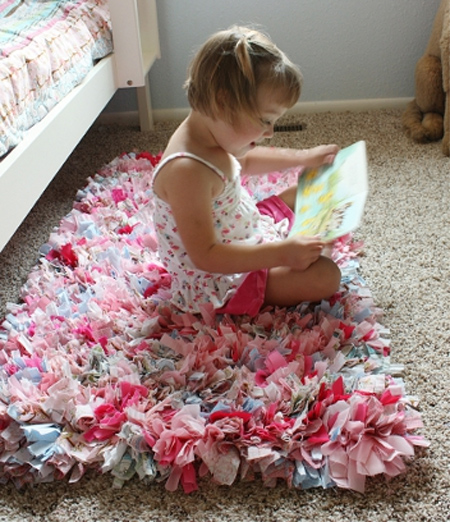 How To Make A Rag Rug Using