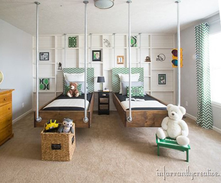 Home Dzine Bedrooms Make A Bed Using Industrial