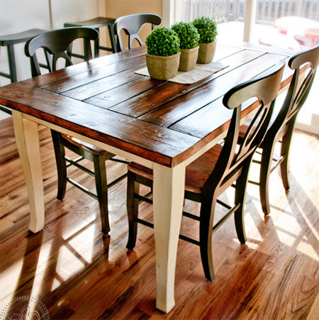 home dzine home decor dining table top makeover with