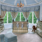 Beautiful ideas for decorating a nursery
