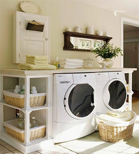 Design And Organize A Small Laundry