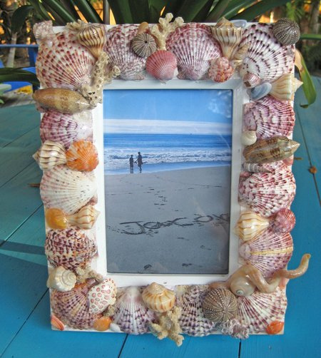 seashells craft ideas home dzine craft ideas crafts with seashells 2895