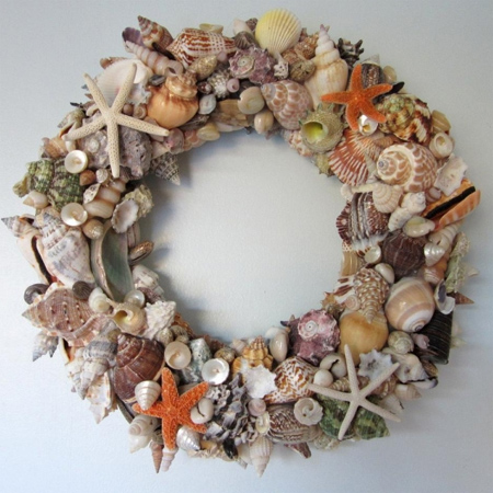 Crafts with seashells