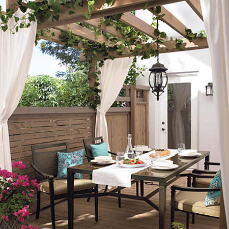 Shady ideas for a patio