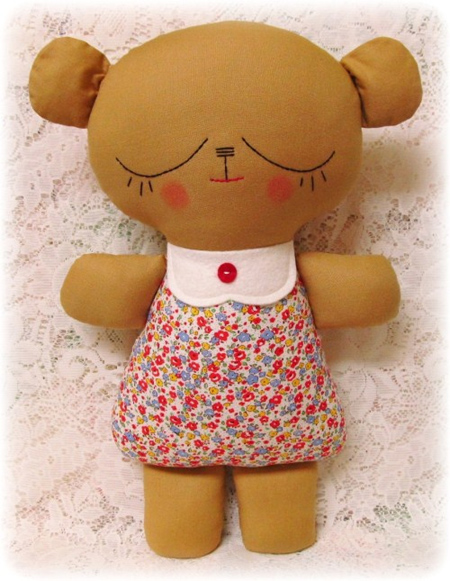 Sewing patterns for soft toys and rag doll