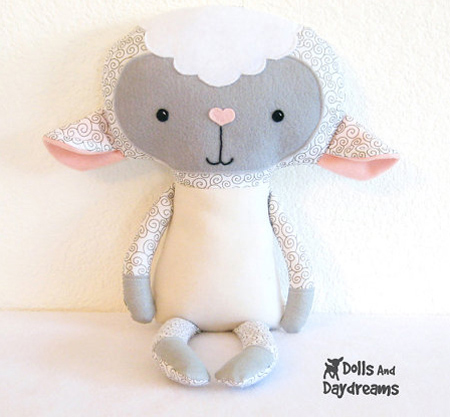 HOME DZINE Craft Ideas | Sewing patterns for soft toys & rag dolls