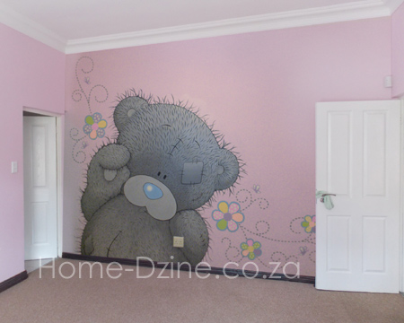 Home dzine craft ideas wall mural painting technique for Diy wall mural painting