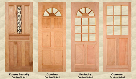 Home dzine home improvement door options for a home - Types doors consider home ...