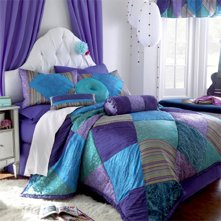 purple and turquoise bedroom ideas home dzine bedrooms gorgeous duvets and bedding for 19543