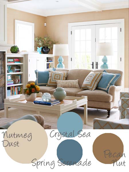 Living Room Ideas With Blue Cream And Beige | Best House Design