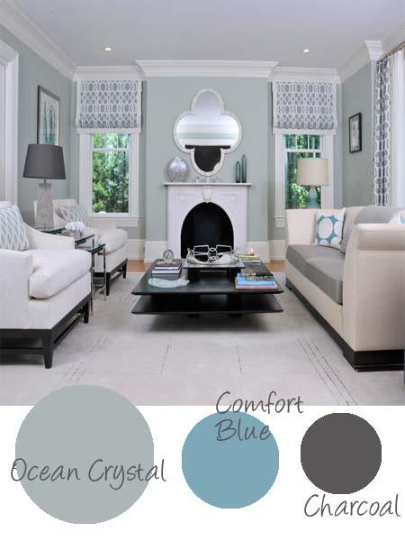 Decorate Subtle Serene Soothing Calm Paint Colour Palette