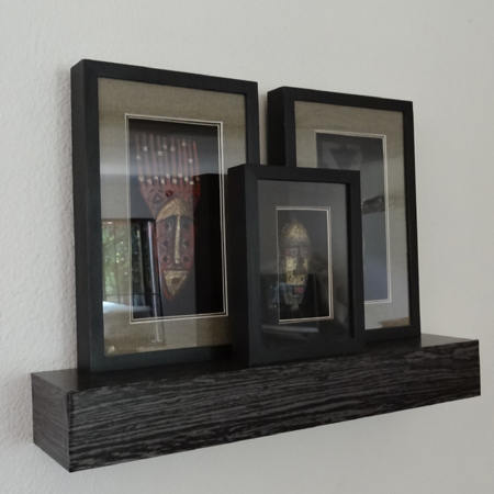 HOME DZINE Home DIY Modern Chunky Floating Shelf Awesome Floating Shelves Mitre 10
