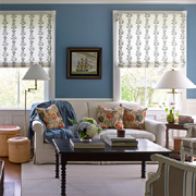 Summer styles for windows - Roman blinds